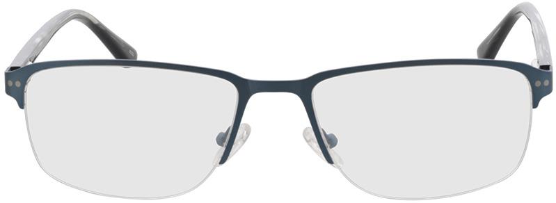 Picture of glasses model Frisco-matt blau in angle 0