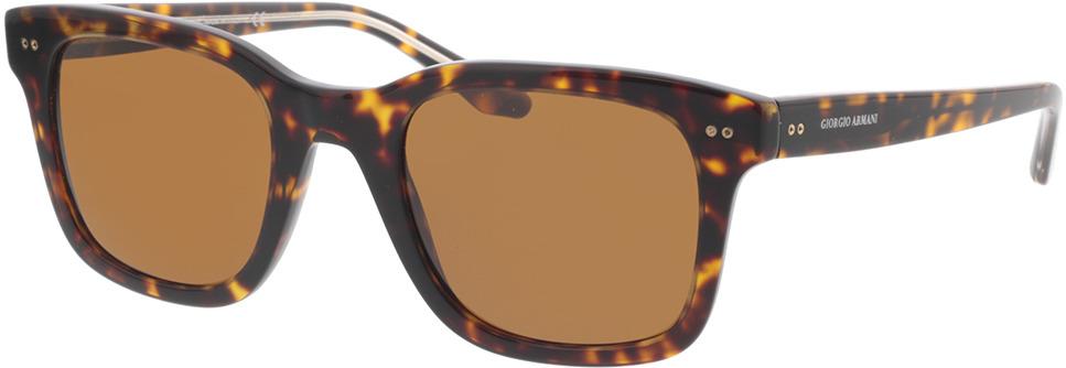 Picture of glasses model Giorgio Armani AR8138 502633 51 in angle 330