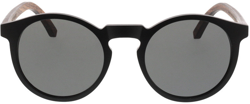 Picture of glasses model TAKE A SHOT Lukas: Walnussholz 49-21 in angle 0