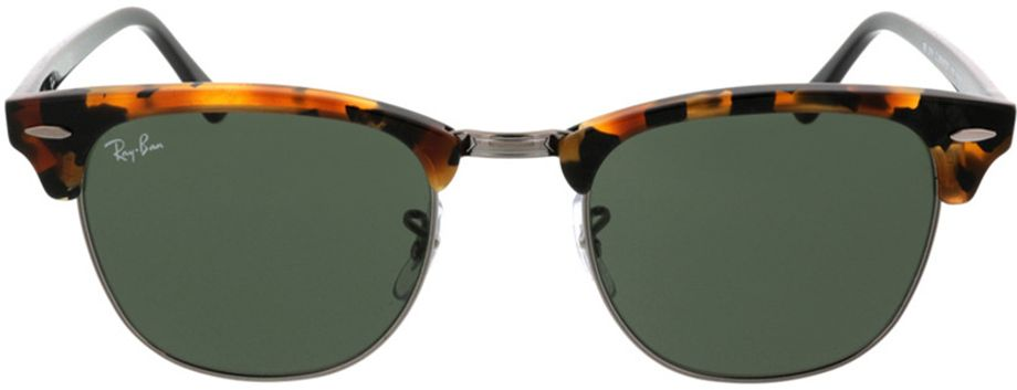 Picture of glasses model Ray-Ban Clubmaster RB3016 1157 51-21 in angle 0