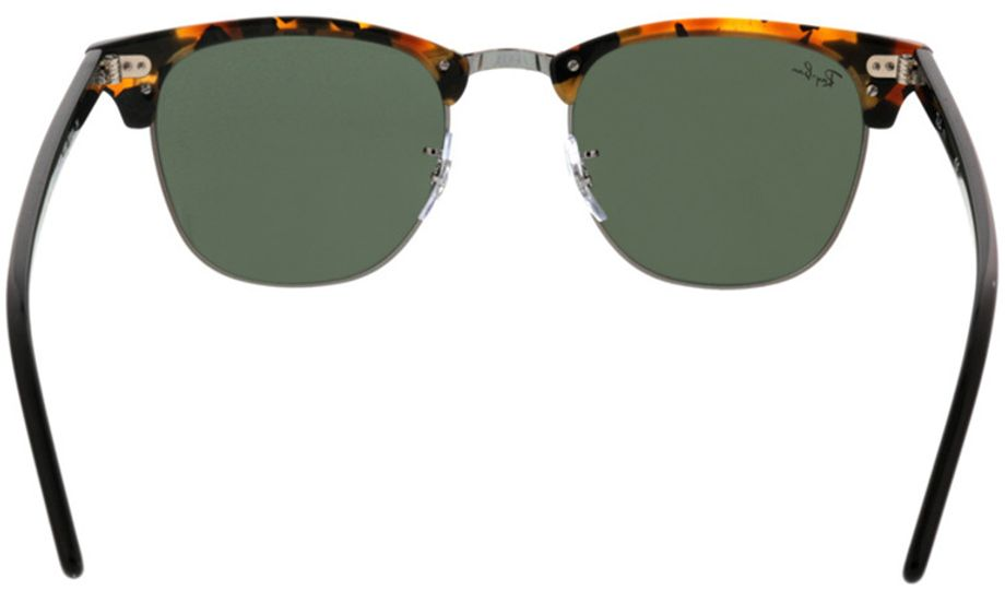 Picture of glasses model Ray-Ban Clubmaster RB3016 1157 51-21 in angle 180