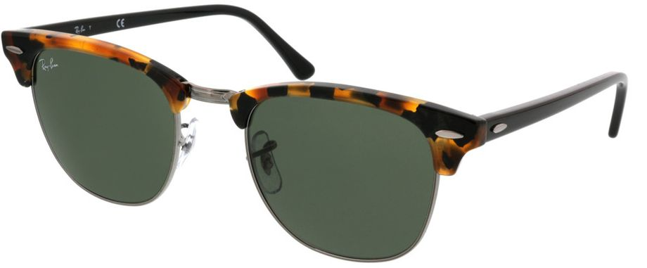 Picture of glasses model Ray-Ban Clubmaster RB3016 1157 51-21 in angle 330