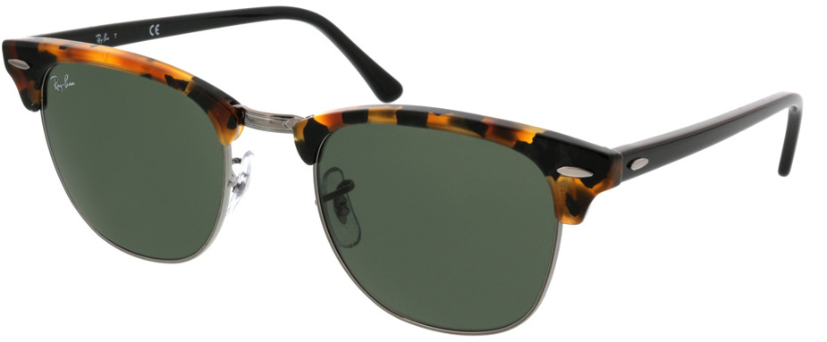 Picture of glasses model Ray-Ban Clubmaster RB3016 1157 51 21