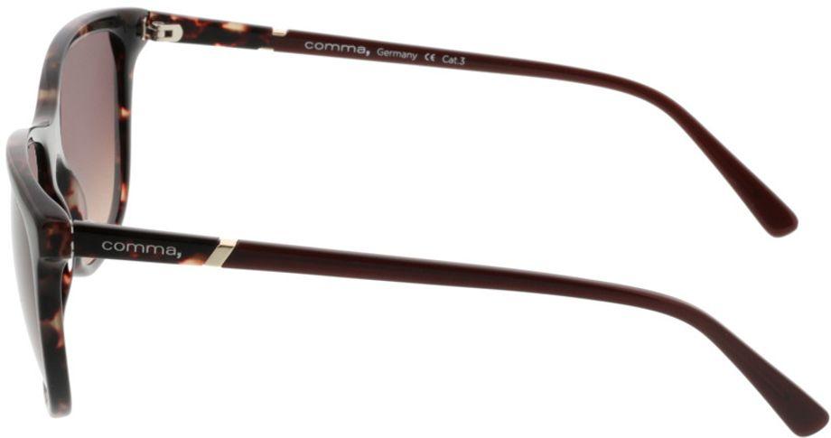 Picture of glasses model Comma77037 60 braun/havanna 55-17 in angle 270