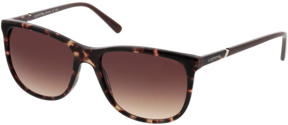 Picture of glasses model Comma77037 60 braun/havanna 55-17 in angle 330