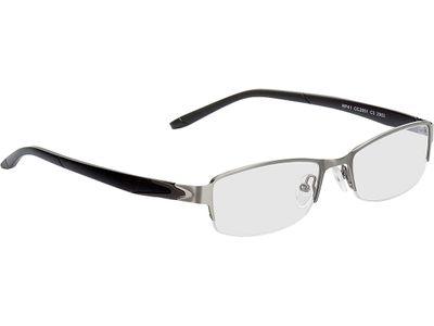 Brille Calvi-grau/schwarz