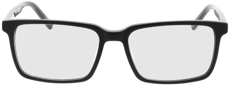 Picture of glasses model Marvic-matt schwarz in angle 0