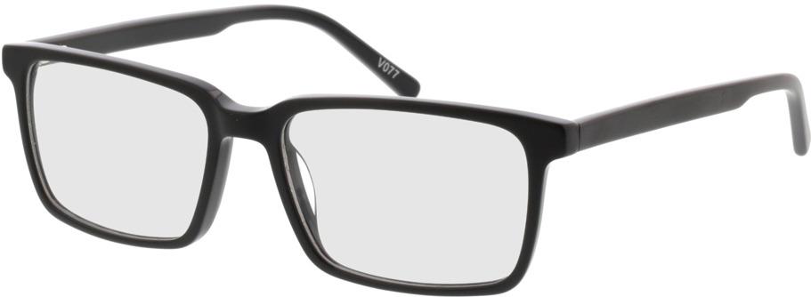 Picture of glasses model Marvic-matt schwarz in angle 330