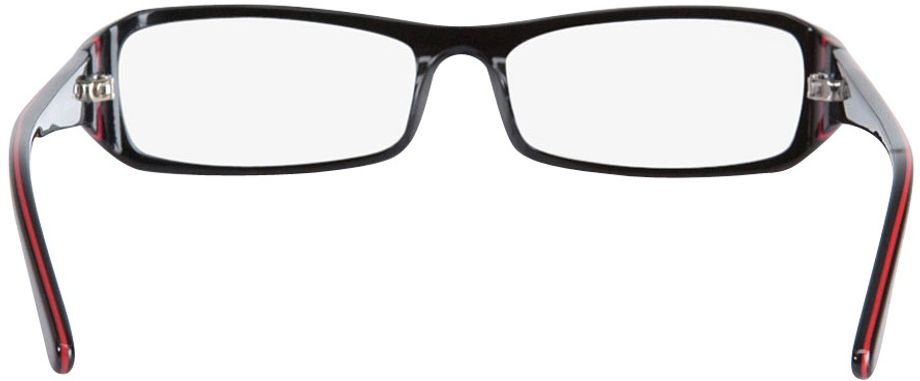 Picture of glasses model Girona-black-red in angle 180