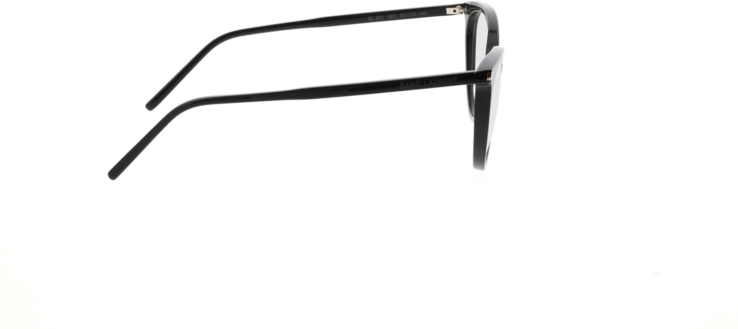 Picture of glasses model Saint Laurent SL 261-001 53-15 in angle 90