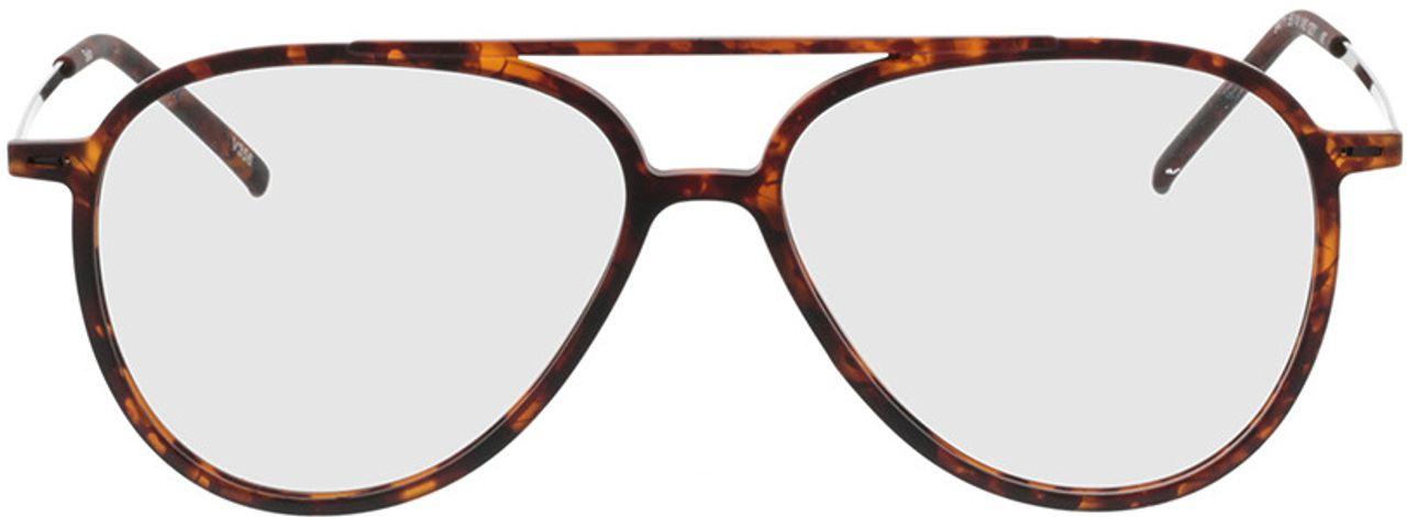 Picture of glasses model Salo-matt havana/schwarz in angle 0