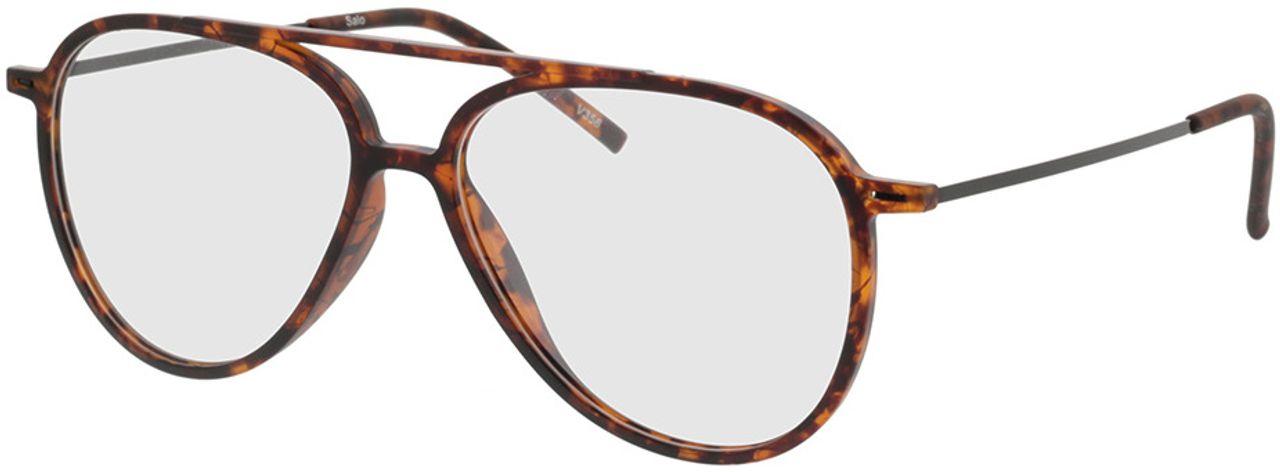 Picture of glasses model Salo-matt havana/schwarz in angle 330