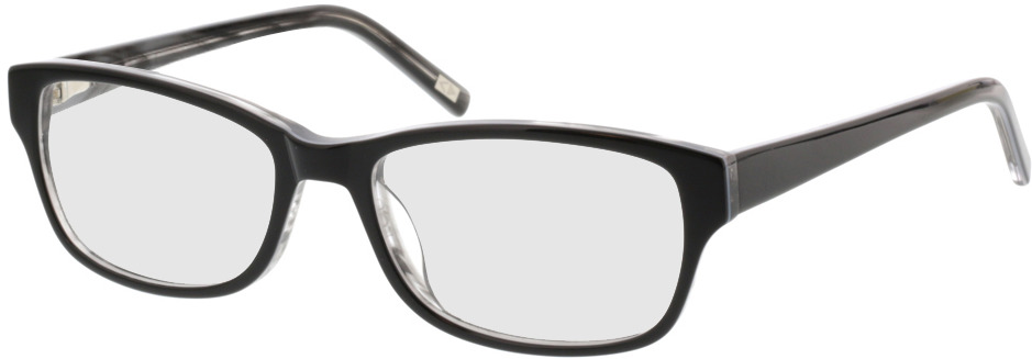 Picture of glasses model Kyra-schwarz grau in angle 330