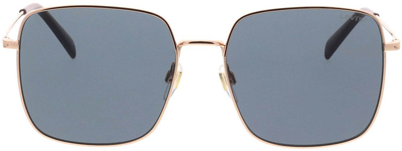 Picture of glasses model Levi's LV 1007/S DDB 56-17 in angle 0