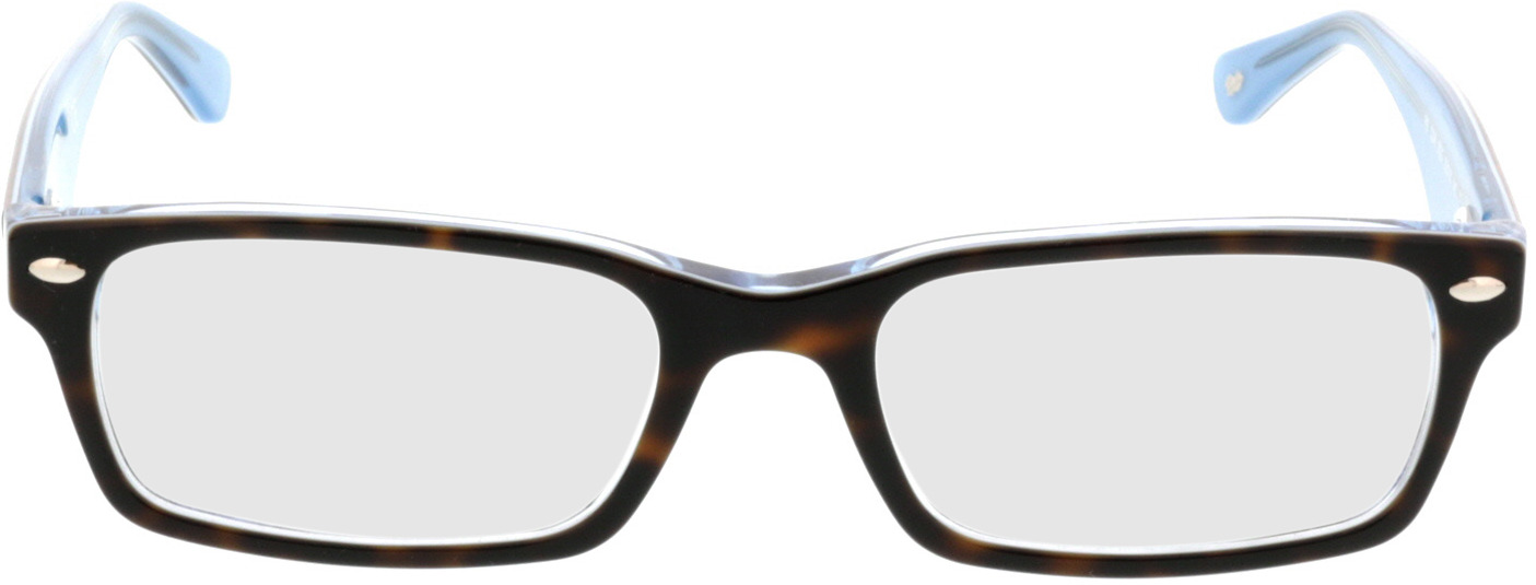 Picture of glasses model Ray-Ban RX5206 5023 52-18 in angle 0