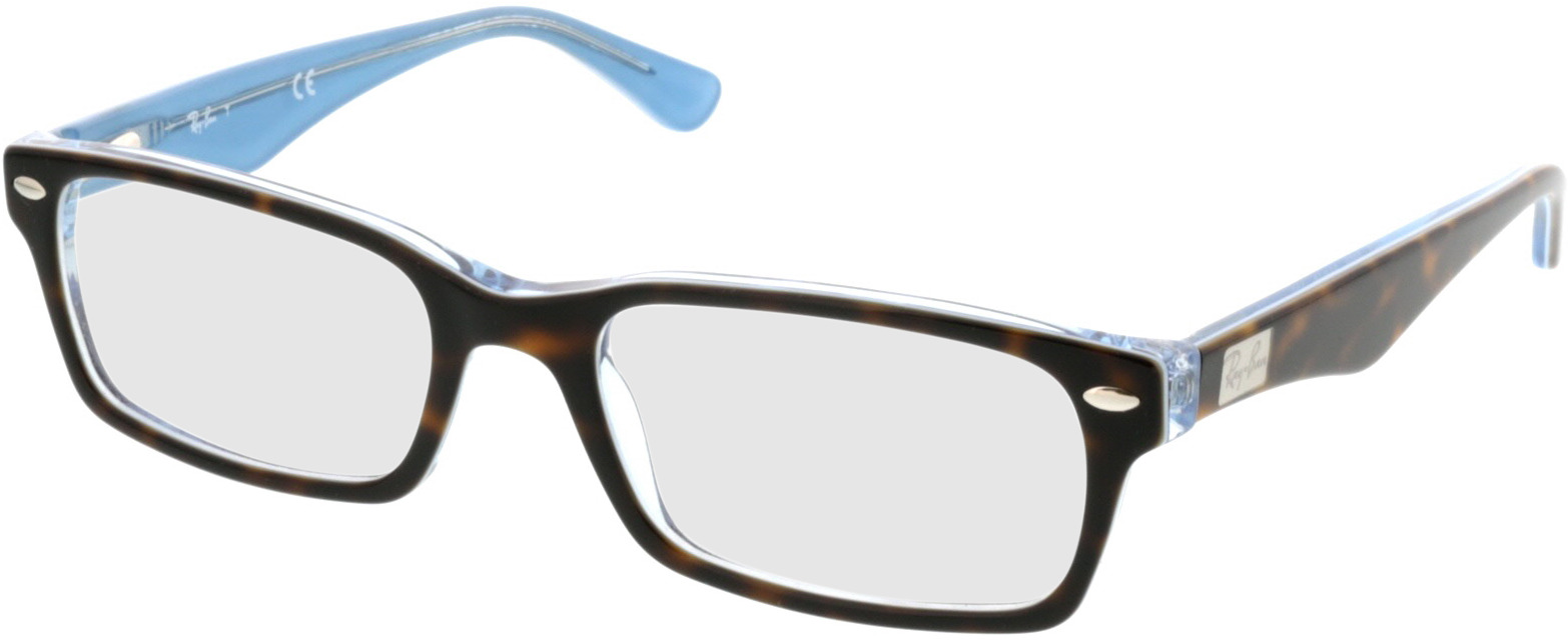 Picture of glasses model Ray-Ban RX5206 5023 52-18 in angle 330