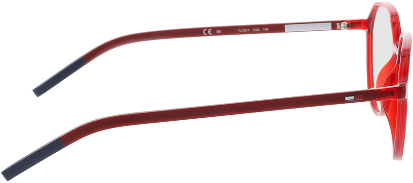 Picture of glasses model Tommy Hilfiger TJ 0011 C9A 50-16 in angle 90