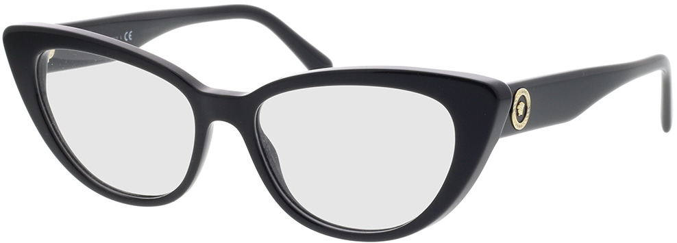 Picture of glasses model Versace VE3286 GB1 54-16 in angle 330