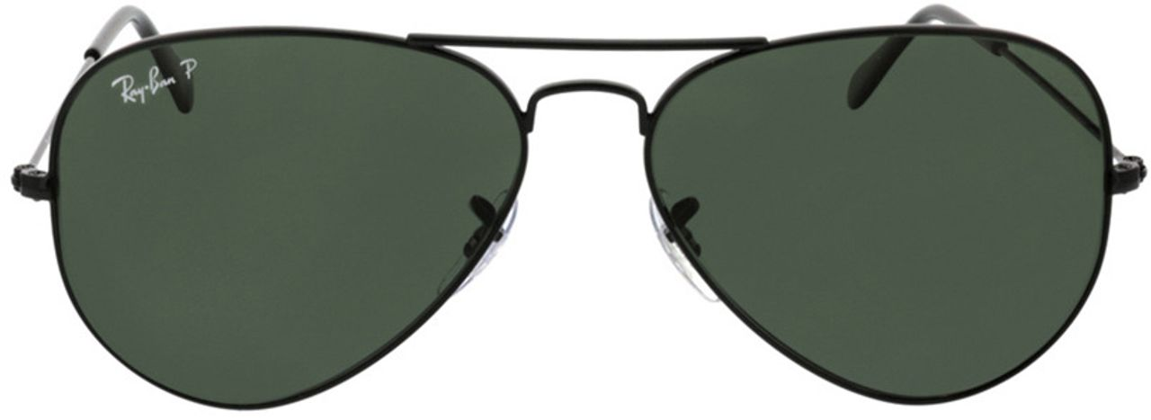 Picture of glasses model Ray-Ban Aviator RB3025 002/58 58-14 in angle 0