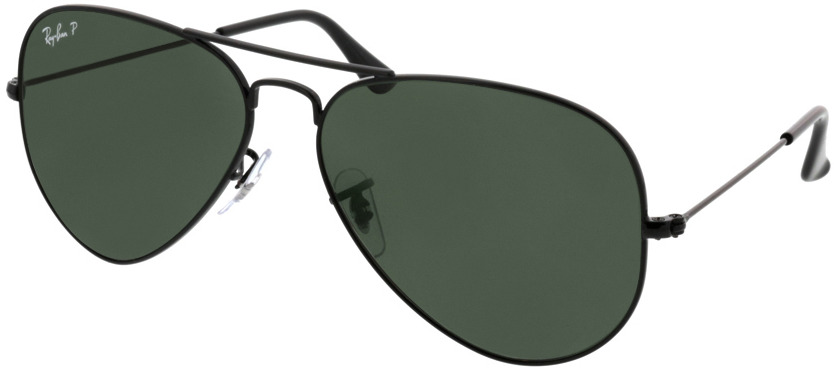 Picture of glasses model Ray-Ban Aviator RB3025 002/58 58-14 in angle 330