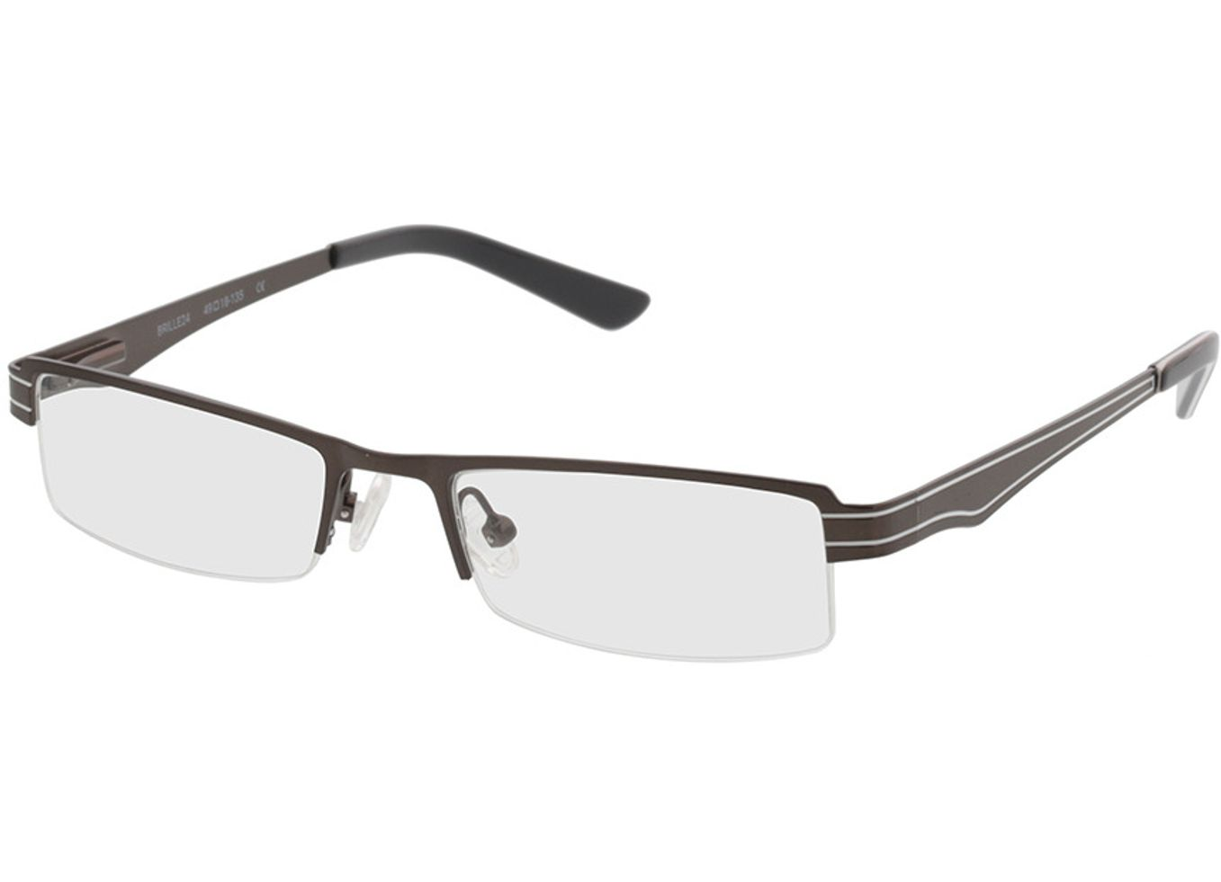 4709-singlevision-0000 Kali-grau Gleitsichtbrille, Halbrand, Dünn Brille24 Collection