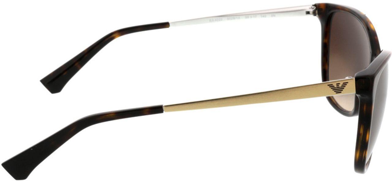Picture of glasses model Emporio Armani EA4025 502613 55-17 in angle 90