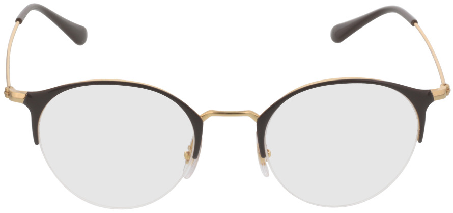 Picture of glasses model Ray-Ban RX3578V 2905 48-22 in angle 0