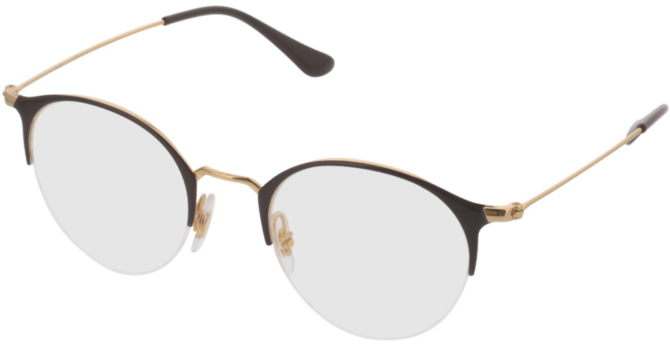 Picture of glasses model Ray-Ban RX3578V 2905 48-22 in angle 330