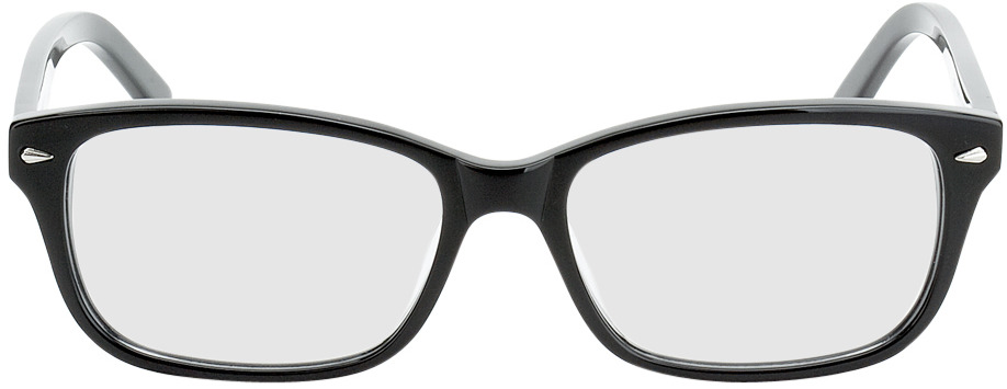 Picture of glasses model Santos Size M black in angle 0