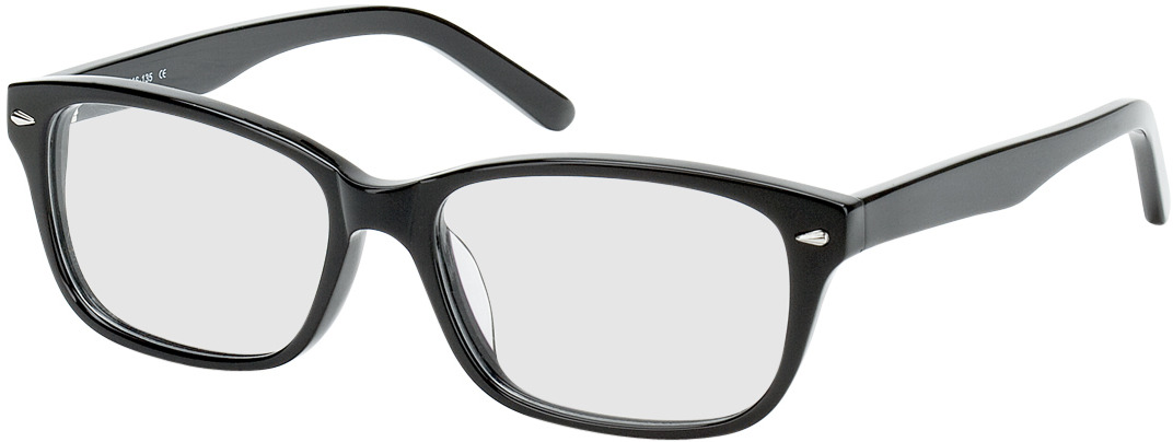 Picture of glasses model Santos Size M black in angle 330
