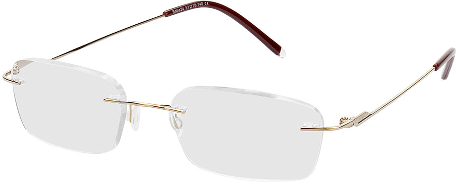 Picture of glasses model Salinas-gold in angle 330