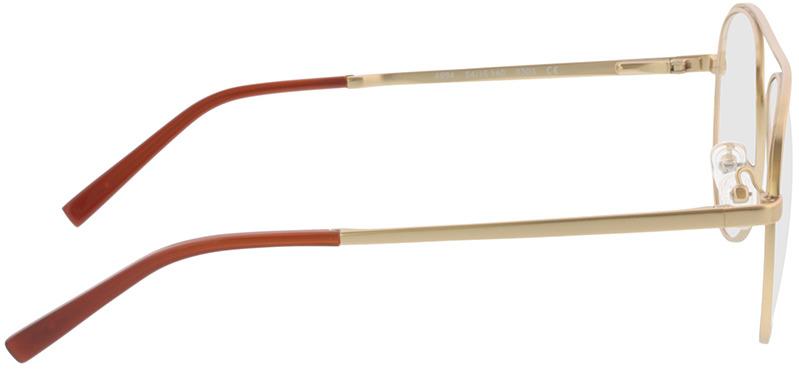 Picture of glasses model Tindari-matt gold in angle 90
