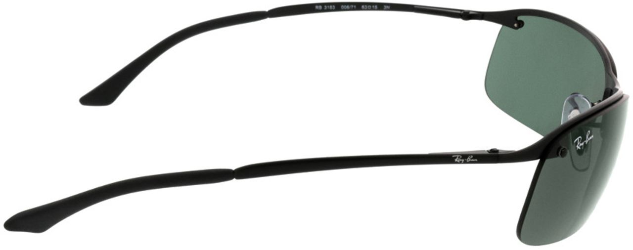 Picture of glasses model Ray-Ban RB3183 006/71 63-15 in angle 90
