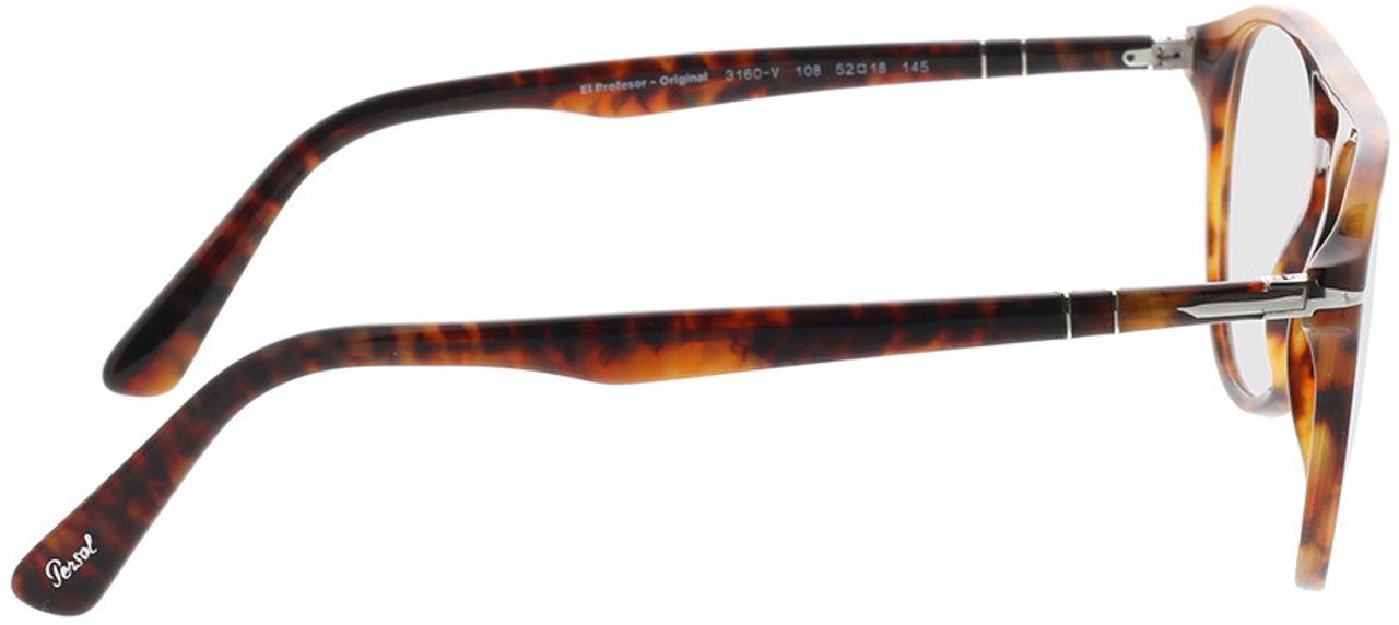 Picture of glasses model Persol PO3160V 108 52-18 in angle 90