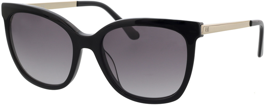 Picture of glasses model Calvin Klein CK21703S 001 55-18 in angle 330