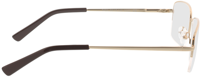 Picture of glasses model Foxton-matt gold in angle 90