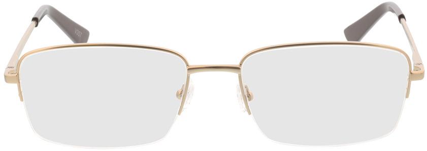 Picture of glasses model Foxton-matt gold in angle 0