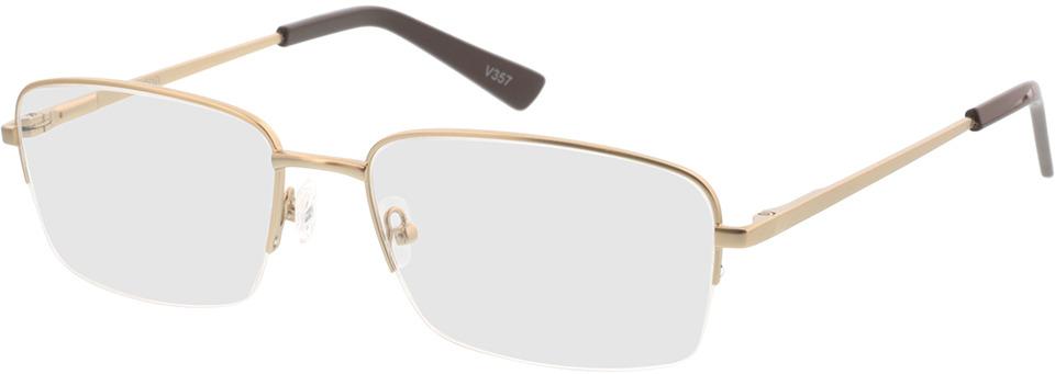 Picture of glasses model Foxton-matt gold in angle 330
