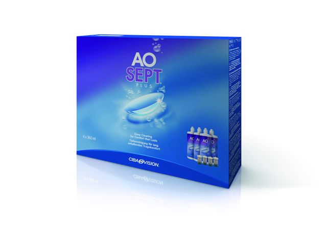 AOSEPT® PLUS Systempack 4 x 360ml