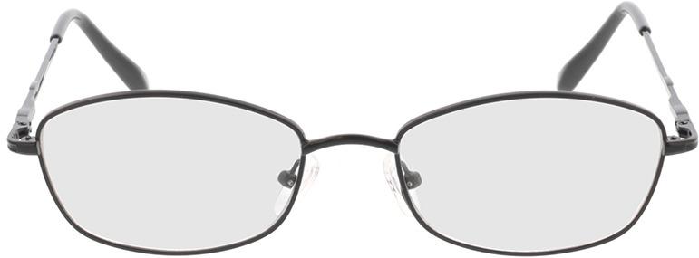 Picture of glasses model Carita-schwarz in angle 0