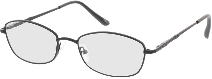 Picture of glasses model Carita-schwarz in angle 330