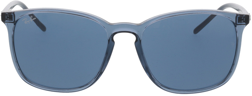 Picture of glasses model Ray-Ban RB4387 639980 56-18 in angle 0