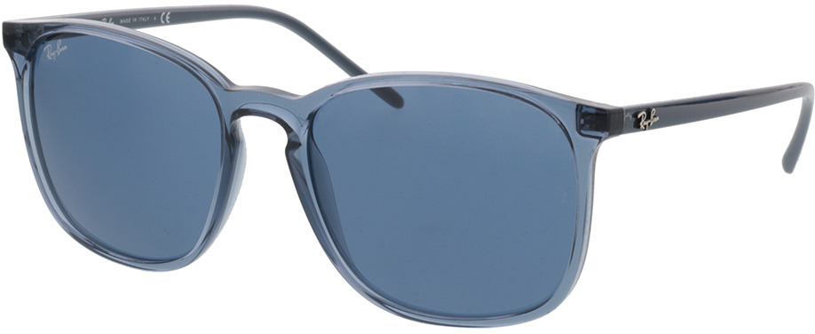 Picture of glasses model Ray-Ban RB4387 639980 56-18 in angle 330
