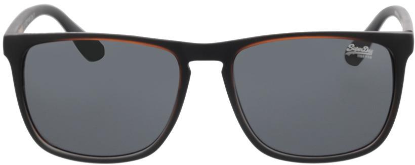 Picture of glasses model Superdry SDS Stockholm 104 black/orange 55-17 in angle 0