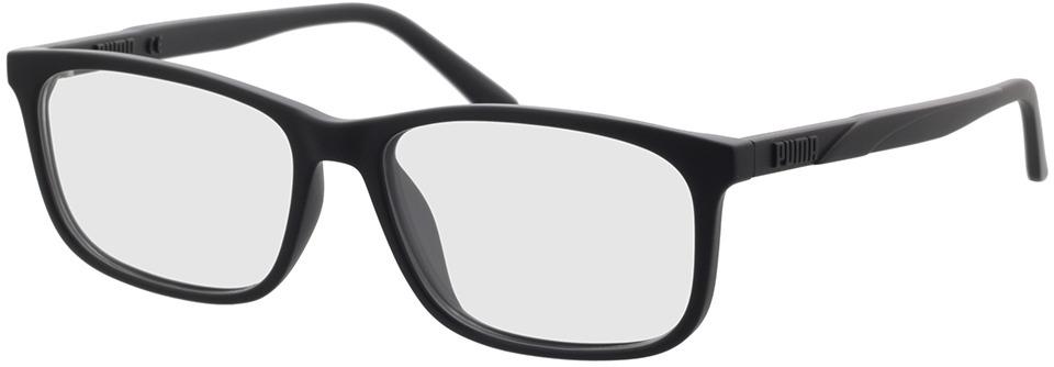 Picture of glasses model Puma PU0333O-001 in angle 330