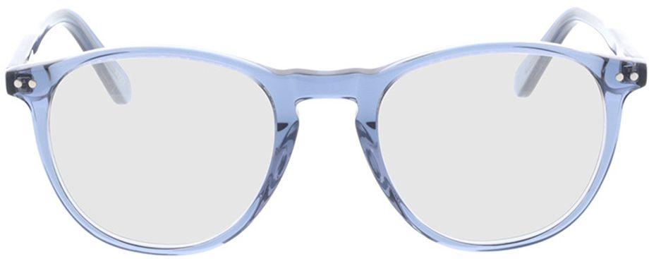 Picture of glasses model Alvin-blau in angle 0