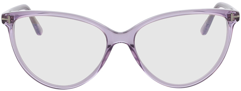 Picture of glasses model Tom Ford FT5743-B 078 57-15 in angle 0