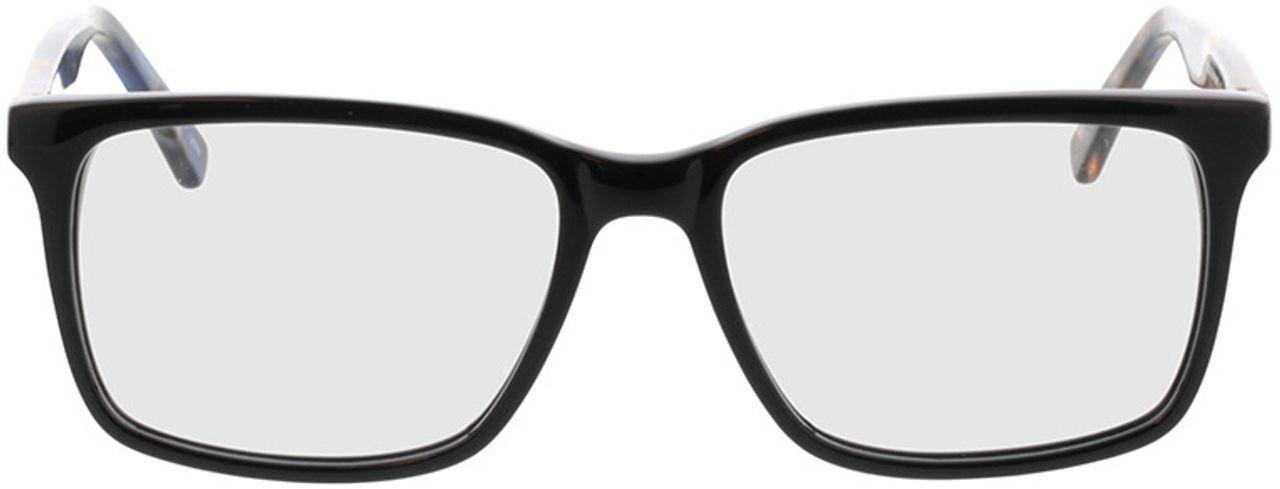 Picture of glasses model Balera-schwarz/blau-meliert in angle 0