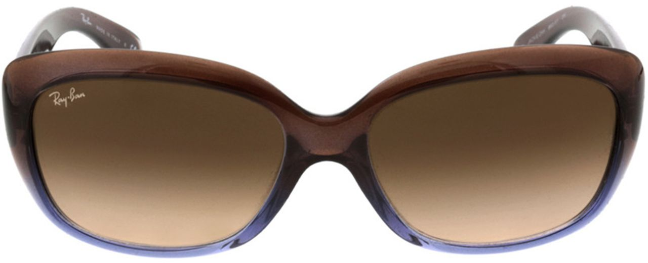Picture of glasses model Ray-Ban Jackie Ohh RB4101 860/51 58-17 in angle 0