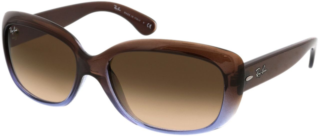 Picture of glasses model Ray-Ban Jackie Ohh RB4101 860/51 58-17 in angle 330